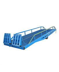 Instant loading ramp 6 tons