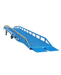 Instant loading ramp 8 tons